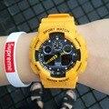 De primeras Marcas Para Hombre Relojes Deportivos LED de Moda Reloj Digital Impermeable Al Aire Libre de la Mujer Relojes de Pulsera Relogios Feminino Regalos Saati