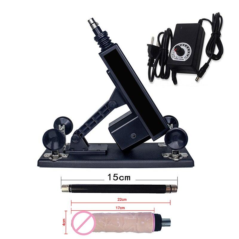Vibrateur automatique de Machine de sexe pour les femmes Masturbation Angle de vitesse réglable Machine de sexe pompe pistolet jouets sexuels produit adulte