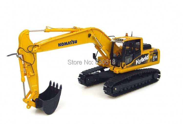 1:50 scale DieCast Komatsu HB215 Hybird Excavators metal Model Toy UH8081 Construction vehicles