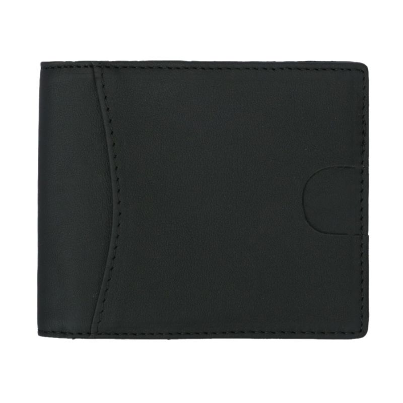 1PC Men Women Casual ID Credit  RFID Protector Holder Money Clip Short Wallet Purse Cards Case