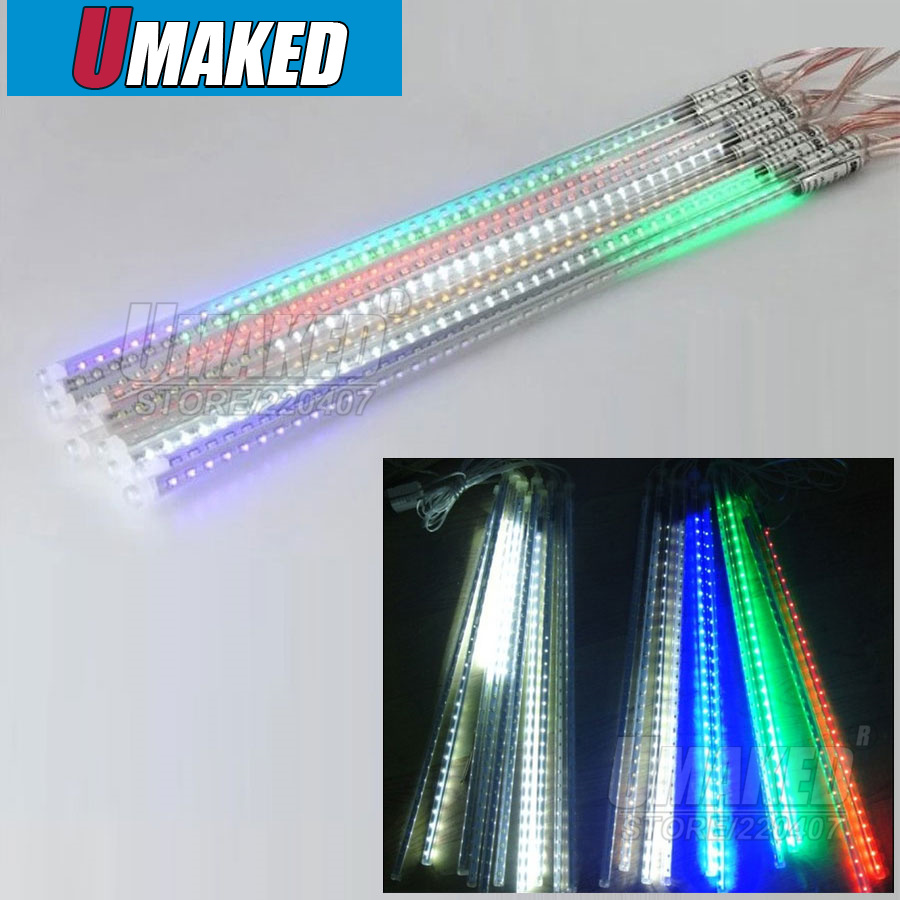 10tubes/set 50cm SMD5050 220V 72leds/tube LED snow fall,LED christmas light, waterproof raining tube, led meteor tube