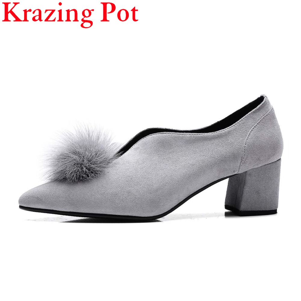2017 Gladiator Shoes Woman Thick Heels Rivets Buckle Slip on Women Pumps Solid Pointed Toe Lazy Preppy Style Lady Shoes L15 2017 shoes women med heels tassel slip on women pumps solid round toe high quality loafers preppy style lady casual shoes 17