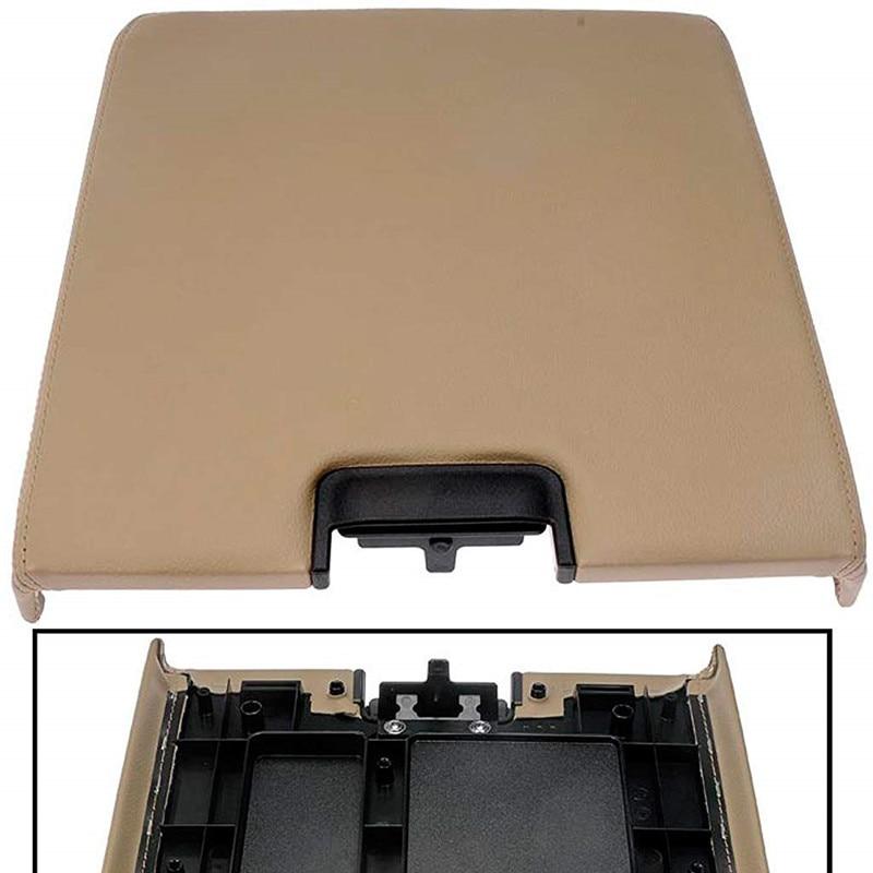 GM Console centrale couvercle accoudoir housse Kit pour 07-13 Chevy Avalanche banlieue Tahoe GMC Yukon XL/08-14 Chevrolet Silverado - 5