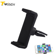 Universal Smartphone Air Vent Car Holder Mount Holder for iPhone 5 5s 6 6s 7 Plus Samsung S6 Xiaomi HTC Mobile Phone GPS Stand