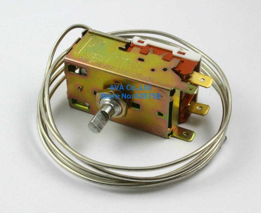AC 250V Refrigerator Thermostat K50-P1125 wpf22a ac 220 250v refrigerator refrigeration thermostat w 30cm metal cord