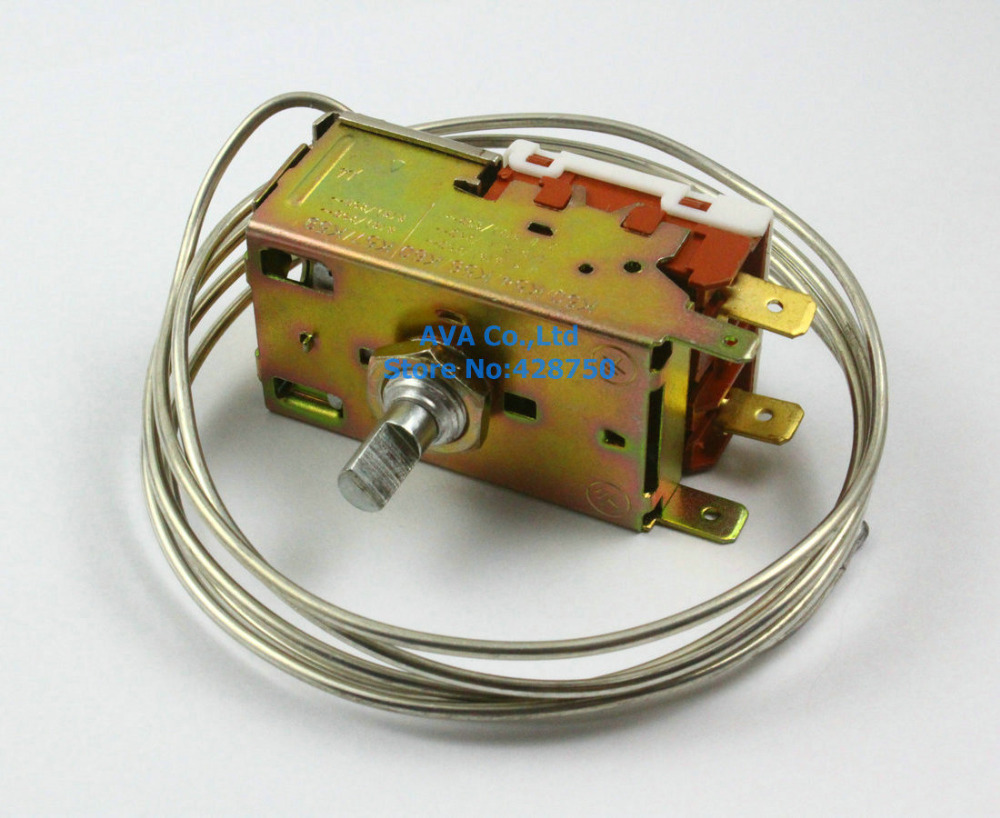 AC 250V Refrigerator Thermostat K50-P1125 ac 250v 4a 4 celsius bimetal refrigerator defrost thermostat bc6014