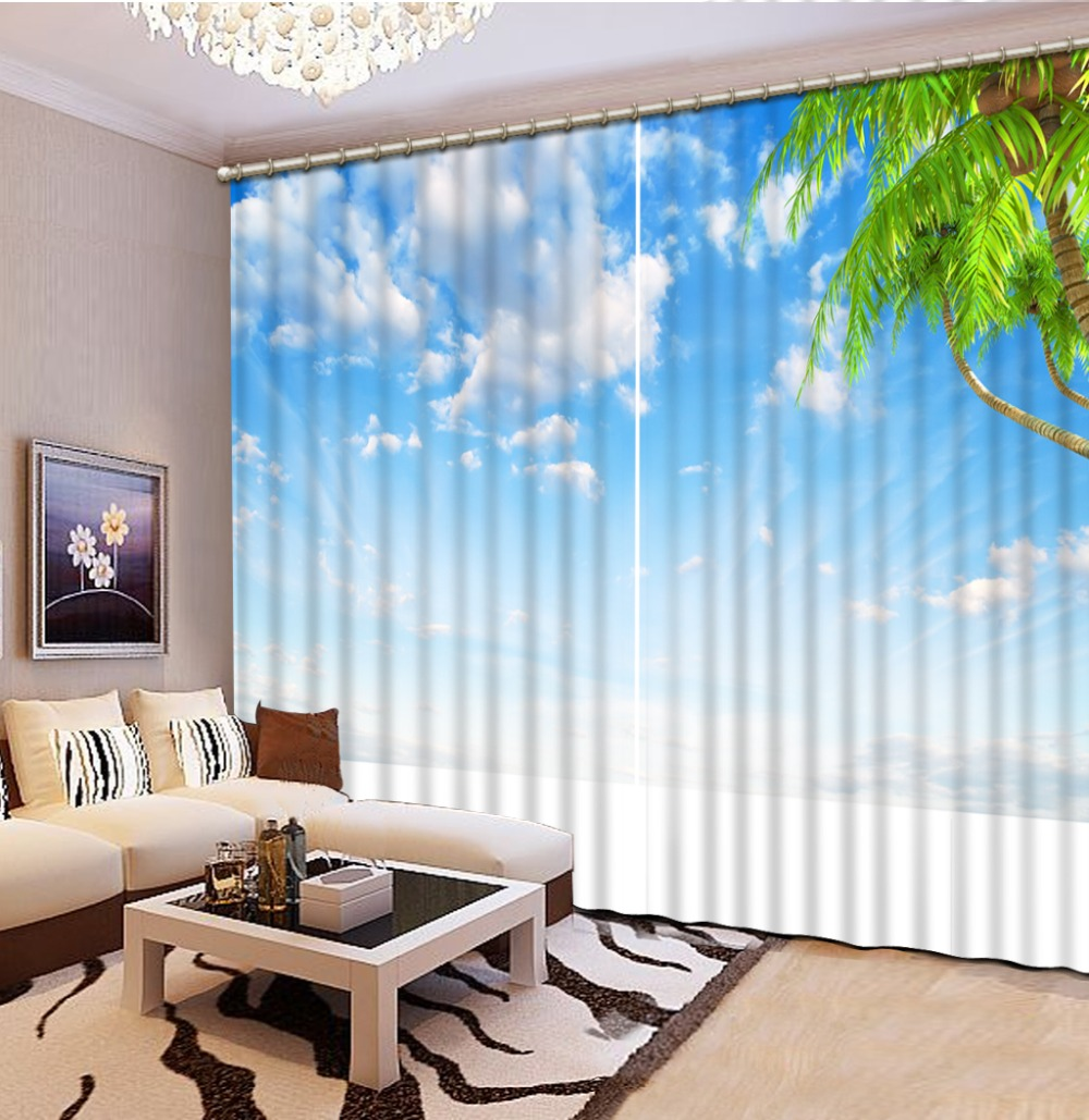 Printing Modern Curtains For Living room hd sky landscape 3D Curtains Blackout Home Decoration Window DrapesPrinting Modern Curtains For Living room hd sky landscape 3D Curtains Blackout Home Decoration Window Drapes