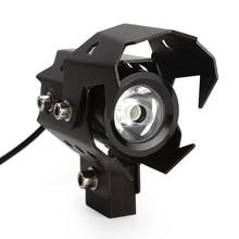 Высокое качество U8 светодиодная фара мотоцикла вождения Туман лампа мотоцикл фары Лампы для мотоциклов Высокая Низкая вспышки луча Водонепроницаемый Открытый Прожекторы
