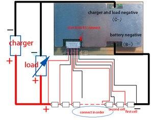 Image 2 - DYKB 8S 30A 40A 60A Lifepo4 ליתיום ברזל פוספט סוללה הגנת לוח מהפך W איזון מעגלים 3S 4S 5S 6S 7S BMS נייד