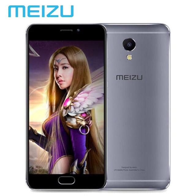 """Оригинал Глобальный Версия Meizu M5 Note M621H 3 ГБ 32 ГБ Мобильный Телефон Android Helio P10 Octa Ядро 5.5 """"4000 мАч Сотовой ОТА"""