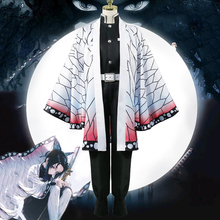 Anime Blade Of Demon Cosplay Costumes Kochou Shinobu Cosplay Costume Halloween Carnival Party Kimetsu No Yaiba Cosplay Costume