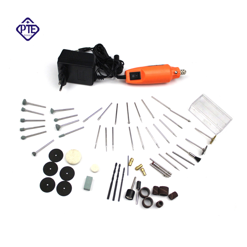 220V Mini Power Rotary Tool Electric Drill Whit Grinding Accessories Set For Dremel Engraving Machine Electric Tool Kit urijk 80 in 1 mini electric rotary drill grinder with grinding accessories set multifunction engraving machine electric tool kit