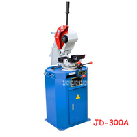 JD 300A Manual Pipe Cutting Machine Desktop Tube Cutter Metal Circular Saw Pipe Cutting Machine 3 phase 380V 1.3KW/1.8KW 75*75m