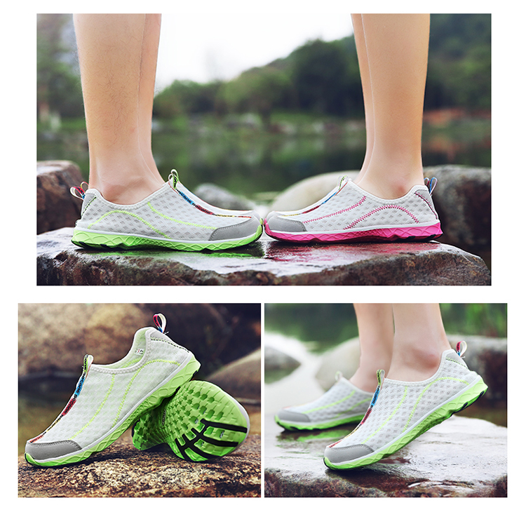 2017 6Colors Mens Shoes Breathable Mesh Women Aqua Shoes Walking Super Light Summer Women Slip On Shoes Men Water Beach Shoes (5)