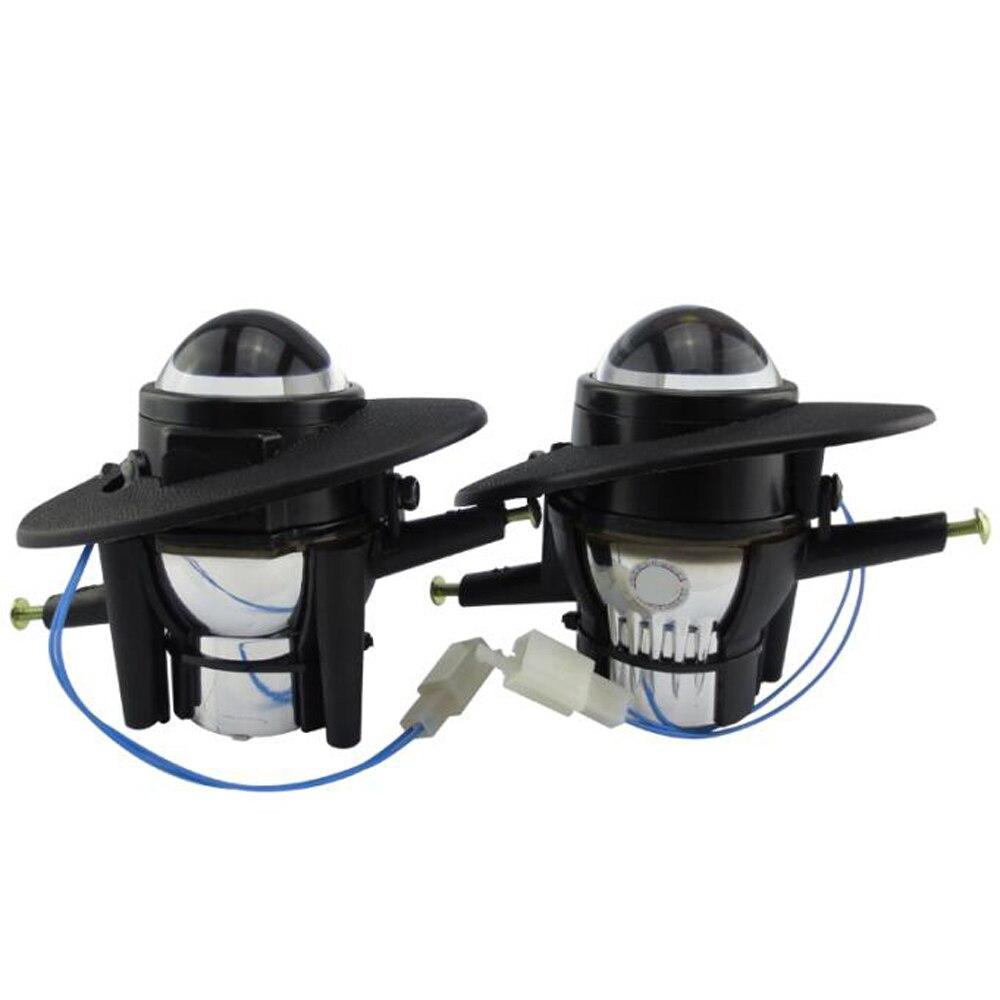 Phare de pare-chocs avant lentille bifocale sport HID xénon halogène porte-lampe anti-brouillard maison pour HONDA ACCORD CIVIC