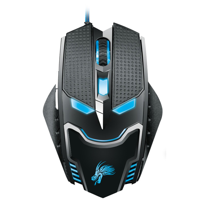 New 2016 5000DPI LED Optical 6D USB Wired game Gaming Mouse gamer Cool Mouse For PC computer Laptop