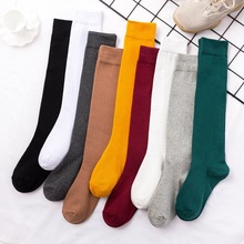 8 Colors Socks for Women Cotton Autumn Winter Long Socks Har