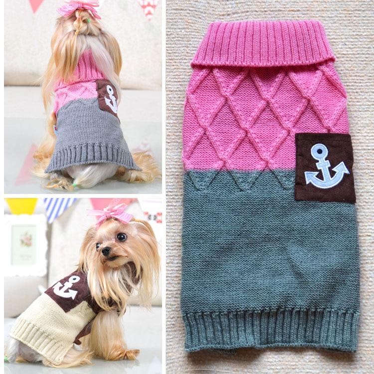 Venta al por mayor 2015 Hot Anchor marinero mascota pequeño perro de ...