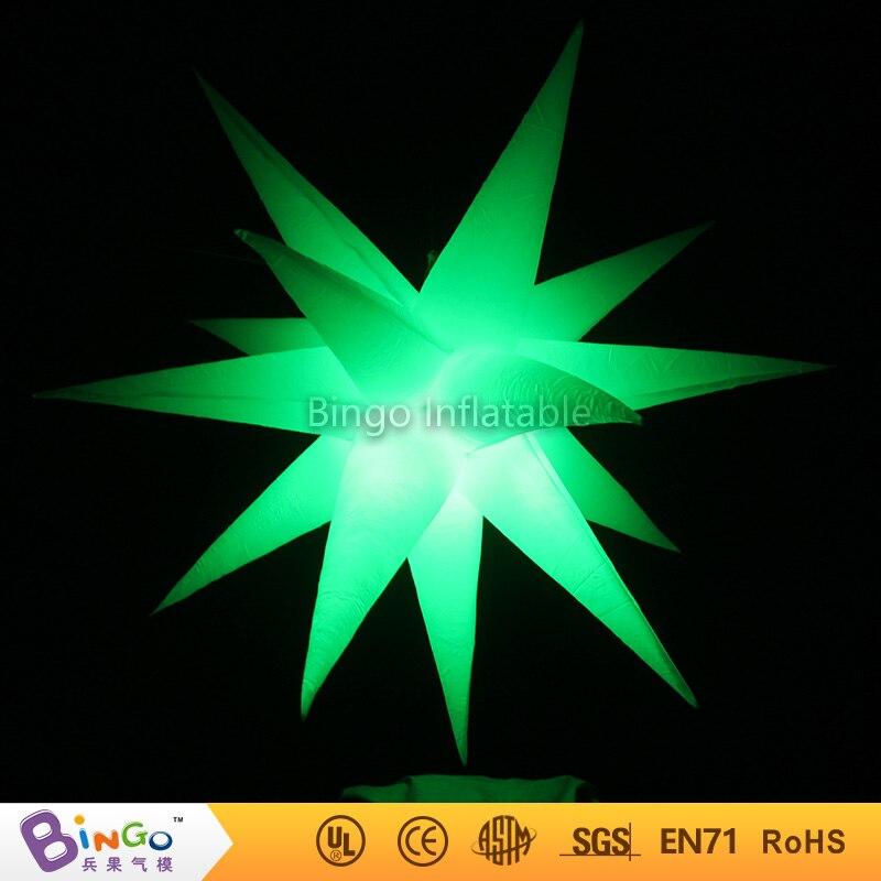 Livraison gratuite 1.5 m bar/scène/hôtel décoration LED d'éclairage jouet gonflable étoile BG-A0866