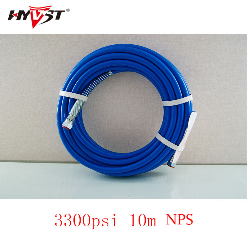 10m High pressure hose 1/4 NPS 3300Psi, airless paint sprayer spare part paint sprayer hose paint sprayer water