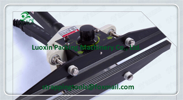 LX-PACK Brand Lowest Factory Price hand operated table-top bag sealers have a seal width of 2 mm with watertight airtight seal lowest price mini cutting plotter375mm seiki brand plotter factory direct sell