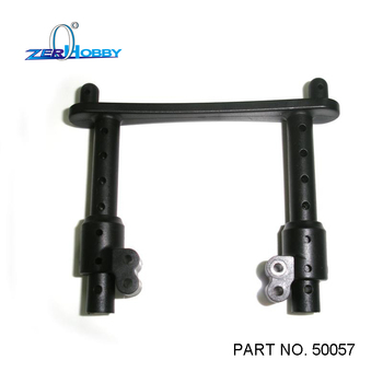 HSP RACING RC CAR SPARE PARTS BODY POST FOR HSP 1/5 OFF ROAD BUGGY AND MONSTER 94059, 94050 (PART NO. 50057) hsp racing rc car spare parts accessories 050009 steel universal drive joint of 1 5 gas truck 94050 skeleton and baja 94054 4wd