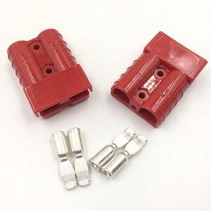 2 шт. продукты питания SB50 600 в разъем 992G1 красный 8AWG 5952 контактный кабель