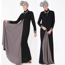 Islamic Clothing Hijab Dress Ramadan Dubai Abaya Marocain Turkish Robe Kaftan Muslim