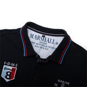 Image 3 - Fredd מרשל 2019 חדש חולצת פולו גברים רקמת מותג Polos Homme קצר שרוול עסקי מזדמן מוצק צבע Mens פולו חולצה 040