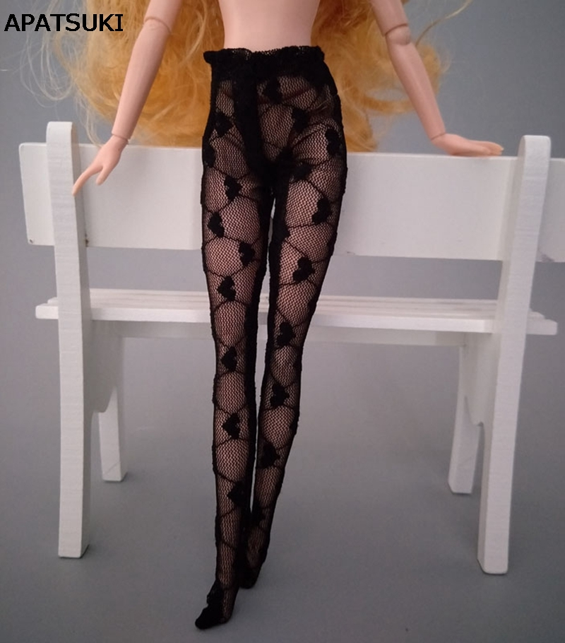 Black Pantyhose//Nylons w//Back Seams for Barbie /& Friends Doll