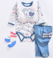 NPK High End Design 55cm Bonecas Bebe Doll Clothes 22'' reborn kids blue 4pcs/set Christmas Gift For Babies Doll Accessories