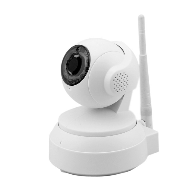 Free fast DHL shipping!! Wireless IP camera with HD 720P live streaming, RF 433Mhz alarm linkage, TF card slot and mobile apps