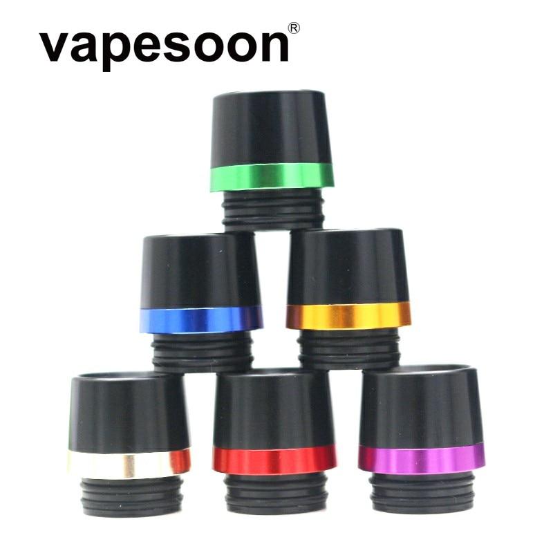 25 pcs เรซิ่น 810 เคล็ดลับหยดกว้าง Bore ปากเป่าสำหรับ e   Cigarette IJust 3 ชุด Ello Duro/VATE atomizer TFV12 Prince ถัง-ใน อุปกรณ์เสริมสำหรับบุหรี่ไฟฟ้า จาก อุปกรณ์อิเล็กทรอนิกส์ บน AliExpress - 11.11_สิบเอ็ด สิบเอ็ดวันคนโสด 1