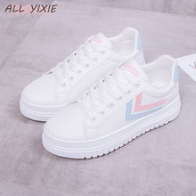 ALL YIXIE 2019 Spring Fashion Wild Leisure Shoes Summer Help low Casual Breathable Platforms Women Sneakers Student Female