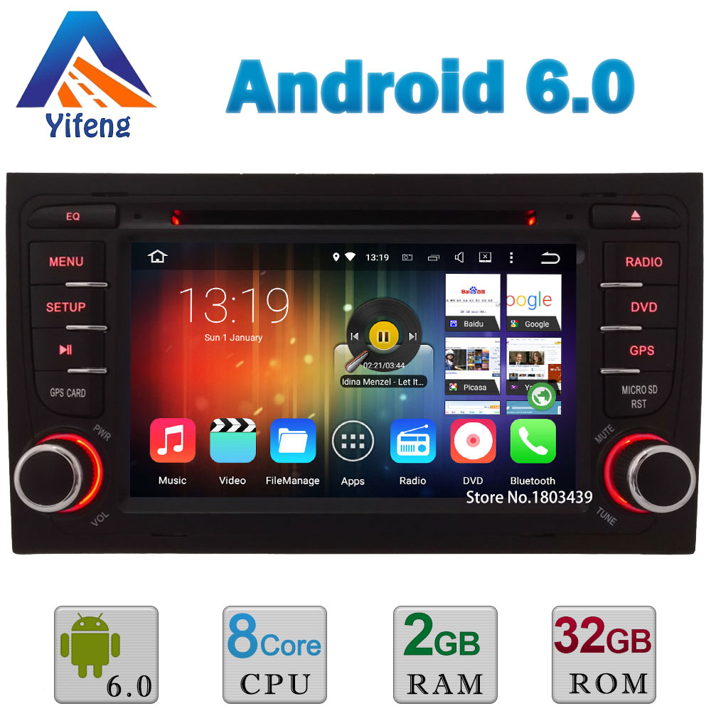 Octa Core Android 6 0 A53 PX5 2GB 32GB WIFI RDS BT Car DVD Multimedia Player