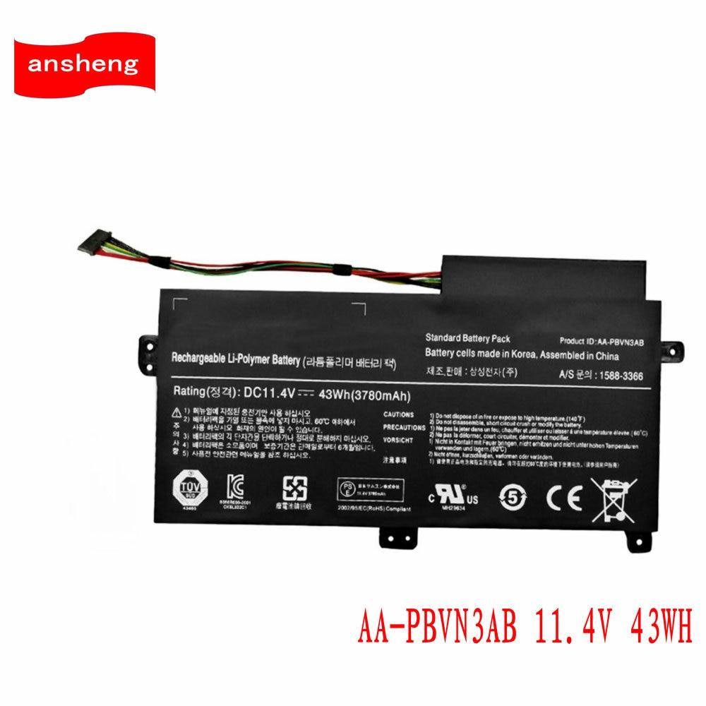 High Quality AA-PBVN3AB Battery For SAMSUNG NP370R4E NP370R5E Np450r5e Np470 Np510 NP370R4E-A03 NP370R5E-S04