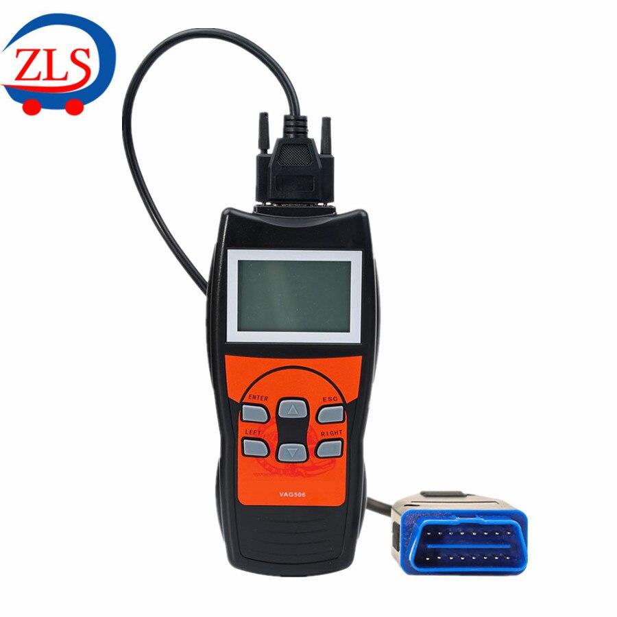 Цена за VAG506 VAG Профессиональный Инструмент Сканирования с Сброса Нефти и Airbag Reset Функции для VW/Audi/Seat/Skoda/гольф и многое другое