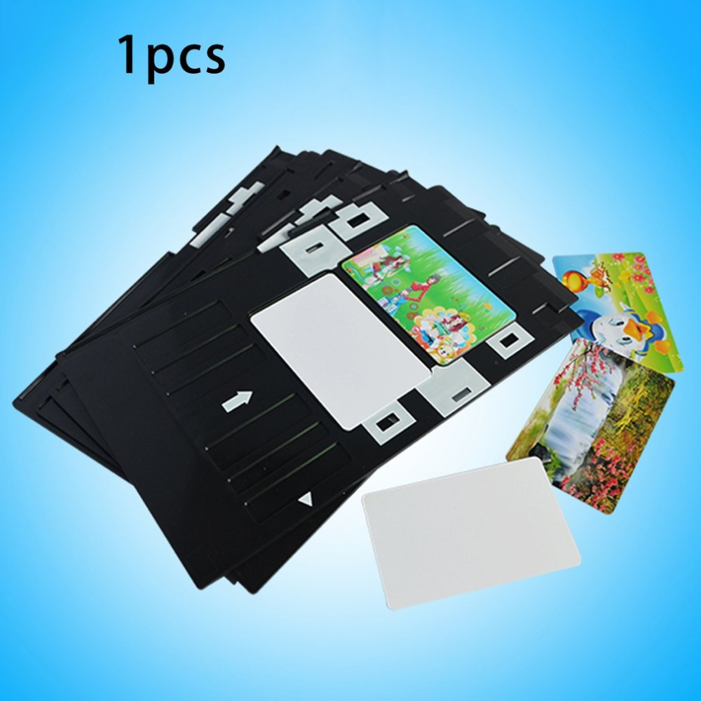 PVC ID Card Tray Plastic Card Printing Tray For Epson Type A/B  Series Printing Plate
