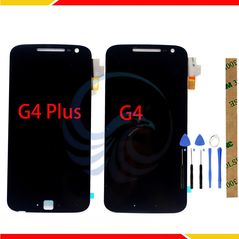 Tested LCD Display ScreenXT1622 Xt1625 For Motorola MOTO G4 G4 PLUSLCD Display With Touch Screen Complete Assembly