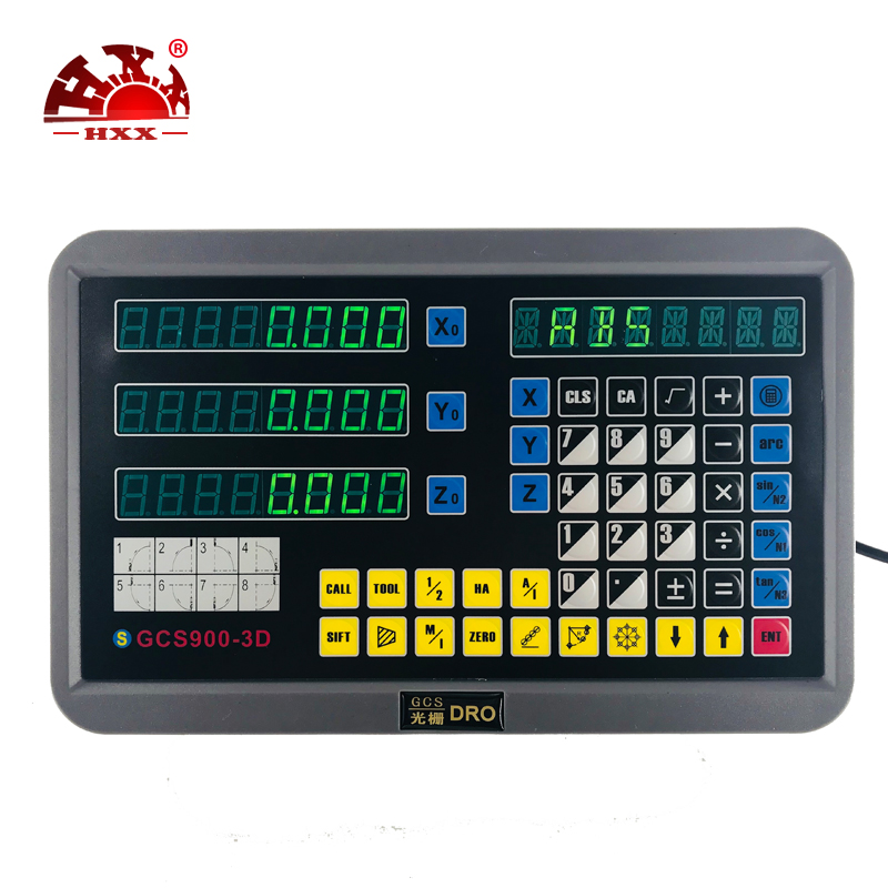 Machine Analyze Instruments Un Kit Linéaire Règle Encode Trois Pièces 5um 50-1000mm Hxx Usine Avec Un Dro GCS900-3D