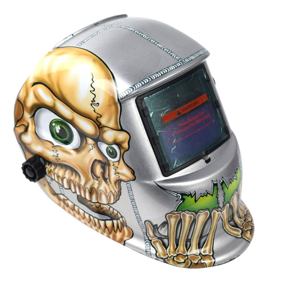 Capacete da soldadura Automática Mudar Banda de Cabeça Máscara de Solda Máscara de Solda Soldador TIG Máscara Osso