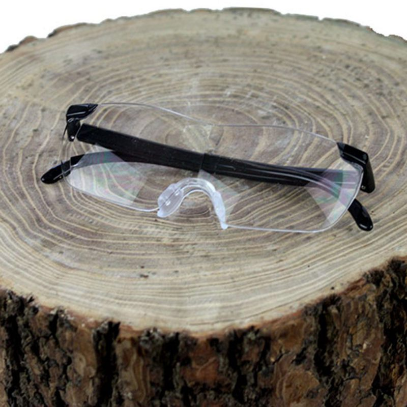 Unisex 160% Magnifying Presbyopic Glasses Eyewear Reading Magnification to See More and Better Portable Magnifier Parents Gift unisex 160