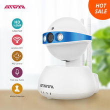 ATFMI T5 720P  IP camera wifi  WI-FI Night Vision wireless CCTV Home Security Camera take care pets whenever and wherever