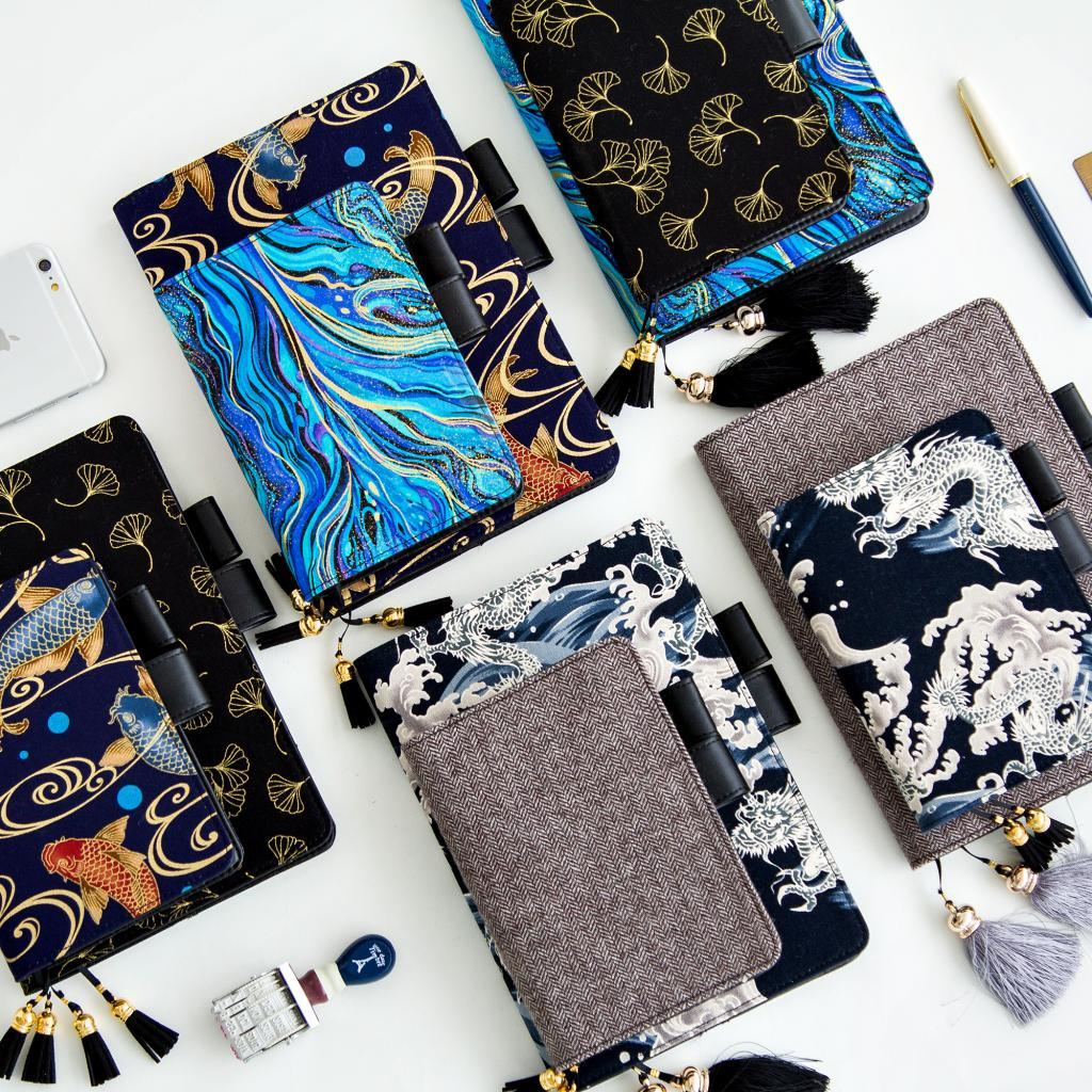 2018 Japanese Old Painting Daily Planner Organizer Agenda Schedule Notebook Dairy Bullet Journal Book Cover For WJ-XXWJ350- 2018 yiwi dokibook lovedoki sequin planner organizer agenda schedule notebook dairy journal book cover for hobonichi