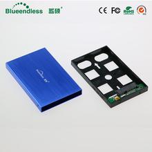 2 5 #8222 SATA USB 2 0 etui na dysk zewnętrzny caddy uniwersalny dysk twardy hdd cztery kolor wysokiej prędkości dysk twardy hdd ssd obudowa aluminiowa sata do dysk twardy usb 2 5 tanie tanio Aluminium U25YA-SATA 2 5 Blueendless Black Silver Red Blue 0 20kg Guangdong China CE ROHS FCC Free Shipping SATA I II III