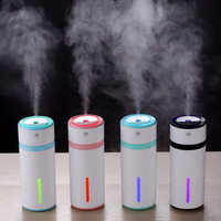 NEW Car Air Purifier Ultrasonic Humidifier USB Night Light Atomization Machine Mist Maker Mini Humidifier Home Use Air Cleaner