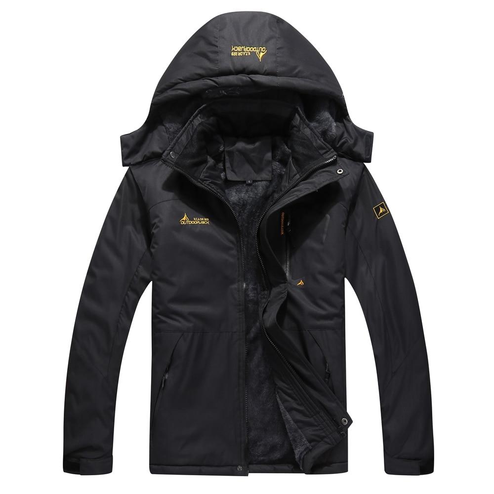 Windproof Jacket Coat Outdoor Winter Camping Brand Male Warm Men Skiing Men's