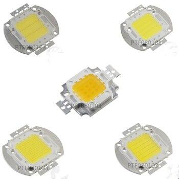 цена на High Power LED Chip Warm Pure Cold White Lighting Beads 1W 3W 5W 10W 20W 30W 50W 100W Integrated Matrix Bulb COB Lamp