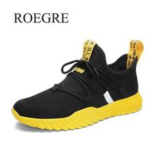 Мужские сетчатые кроссовки, повседневные дышащие кроссовки, легкая обувь для движения, осень лето 2019
