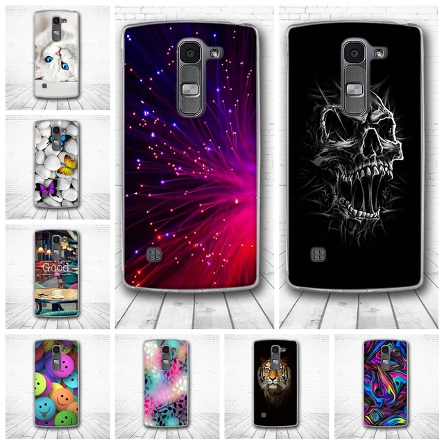 online store 0d32f 0a2ec US $0.99 10% OFF|Soft Case for LG Spirit Luxury 3D Relief Printing Back  Cover for LG Spirit 4G LTE H440N H420 Soft Silicon TPU Phone Capa Funda-in  ...